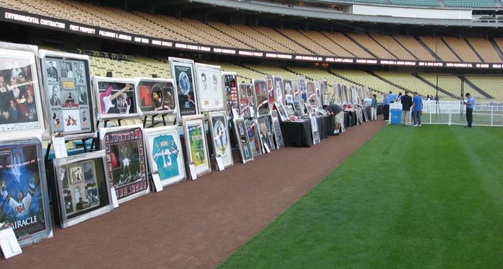 Dodger Stadium Setup